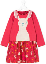 Oilily bunny print dress
