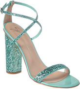 Giuseppe Zanotti Glitter Leather Sandal