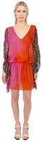 Caffe Swimwear - Cover Up Kaftan Dress In Orange