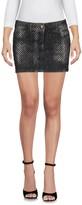 Philipp Plein Denim skirts - Item 42584785