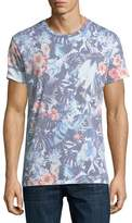 Sol Angeles Tropical Flower Crewneck T-Shirt