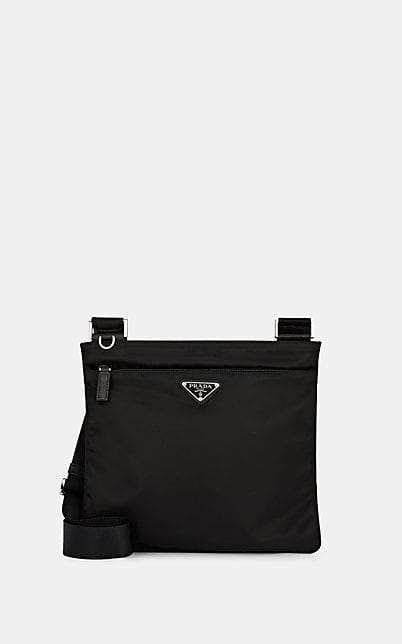 Prada Women's Vela Crossbody Bag - Black