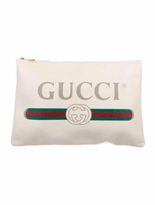 Gucci 2018 Large Logo Portfolio multicolor