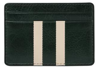 Fossil Ronnie Card Case Wallets Spruce