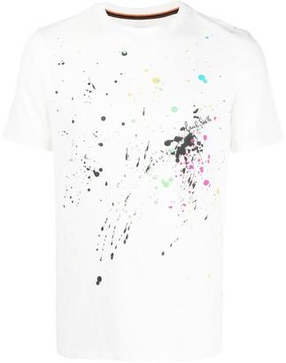 Paul Smith Paint Splatter T-Shirt