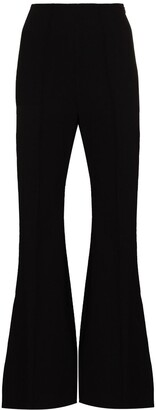 Low Classic High-Waist Flared Trousers