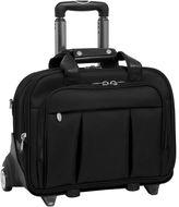 McKlein McKleinUSA Damen 17 Detachable -Wheeled Laptop Briefcase