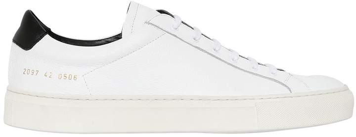 Common Projects Achilles Retro Low Leather Sneakers