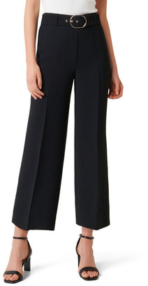 Forever New Petite Nadine Petite Belted Culotte Pants