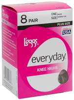 Leggs L'eggs Everyday Knee High 8 Pair Pack