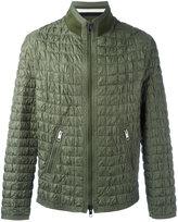 Ermanno Scervino textured padded jacket