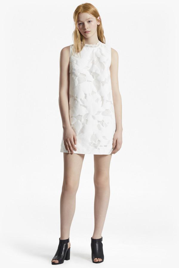 Deka Mini Embroidered Dress Cotton Deka Cotton UMVpSzGq