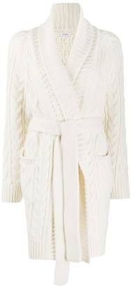 P.A.R.O.S.H. Cable Knit Robe Cardigan