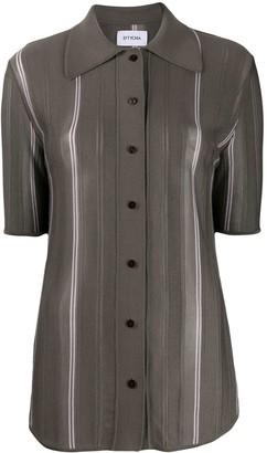 Eftychia Longline Fine Knit Shirt