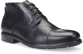 Geox Dublin Leather Boots, Black