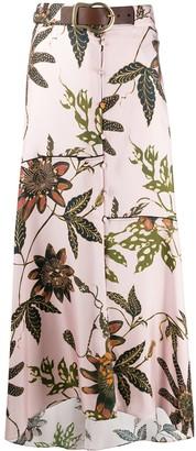 Dorothee Schumacher Powerful Flora silk skirt