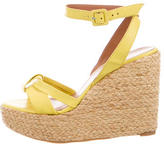 Robert Clergerie Espadrille Wedges