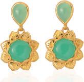 Emma Chapman Jewels - Isa Chrysoprase Earrings