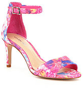 Gianni Bini Meria Floral Ankle-Strap Stiletto Dress Sandals