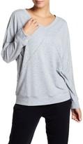 Felina City Terry Lounge Long Sleeve Sweatshirt