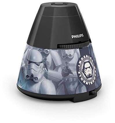 Philips LED Star Wars 4.5 V Children's Night Light and Projector, 0.1 W - Black
