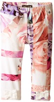 Roberto Cavalli All Over Printed Leggings with Bows (Infant)