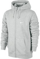 Nike Men's Club Swoosh Full Zip Fleece Hoodie