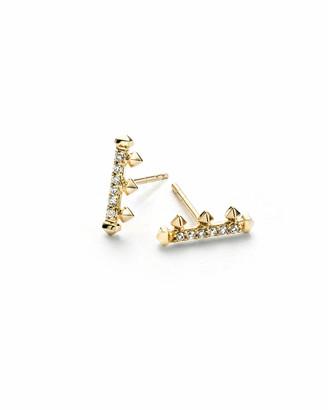 Kendra Scott Dorothy White Diamond Stud Earrings
