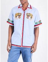 Gucci Oxford Cotton Bowling Shirt