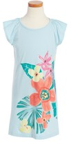 Tea Collection Toddler Girl's Fan Palm Graphic Dress