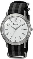 Roots 'Core' Quartz Stainless Steel and Nylon Casual WatchMulti Color (Model: 1R-PR201WH7S)