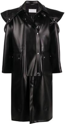 Maison Margiela Cape-Panel Oversized Coat