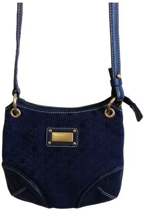 Coccinelle Blue Leather Clutch bags