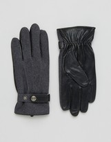 Dents Guilford Wool & Leather Gloves