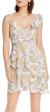 Lini Naomi Paisley Print Ruffled Dress - 100% Exclusive