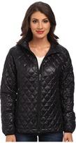 Rainforest Zip Front ThermoLuxe Quilt Jacket