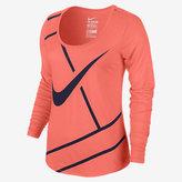 Nike NikeCourt Practice Women's Long Sleeve Tennis Top