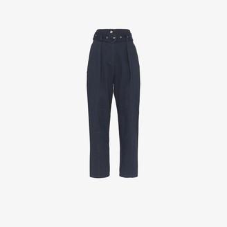 Low Classic High Waist Wide Leg Trousers
