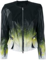 Sylvie Schimmel ink splatter jacket