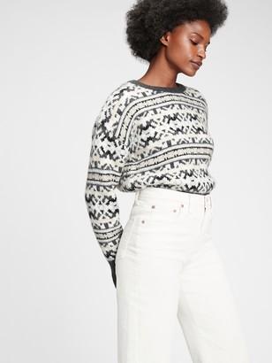Gap Fair Isle Crewneck Sweater