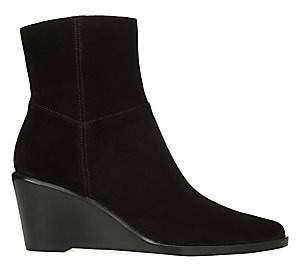Vince Women's Mavis Suede Wedge Ankle Boots