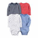 Carter's 4-pc. Bodysuit Set-Baby Boys