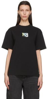 Alexander Wang Black Puff Logo T-Shirt