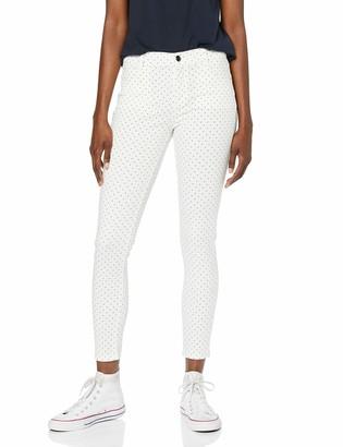 Dorothy Perkins Women's Spot Print Frankie Skinny Jeans