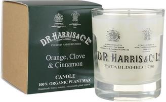D.R. Harris D. R. Harris - Orange, Clove & Cinnamon Candle - Green/White/Glass