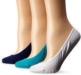 Sperry Women's 9-11 Sock (5-9 Shoe) 3 Pack No Show Liner