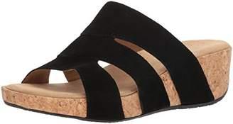 Adrienne Vittadini Footwear Women's Daytona Wedge Sandal