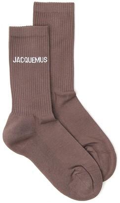 Jacquemus Stretch Rib Knit Socks