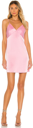 Alice + Olivia Melinda Seamed Slip Short Dress