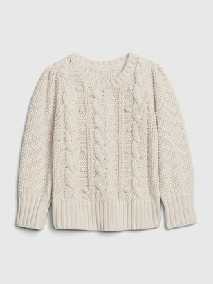 Gap Toddler Cable Knit Sweater